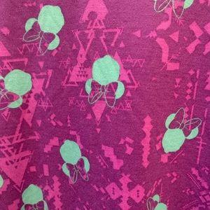 Purple Lularoe Disney Irma Minnie Shirt XXS BNWT
